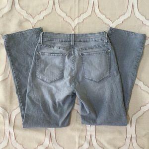 NYDJ Gray Straight Leg Jeans